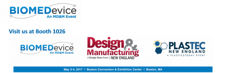 BIOMEDEVICE, PLASTIC, DESIGN & MANUFACTURING SHOW